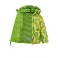 Куртка двухсторонняя TICKET TO HEAVEN   цвет 5113 салатовый