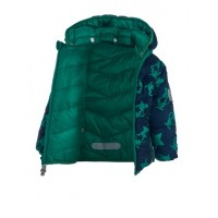 Куртка двухсторонняя TICKET TO HEAVEN цвет 5129 зеленый